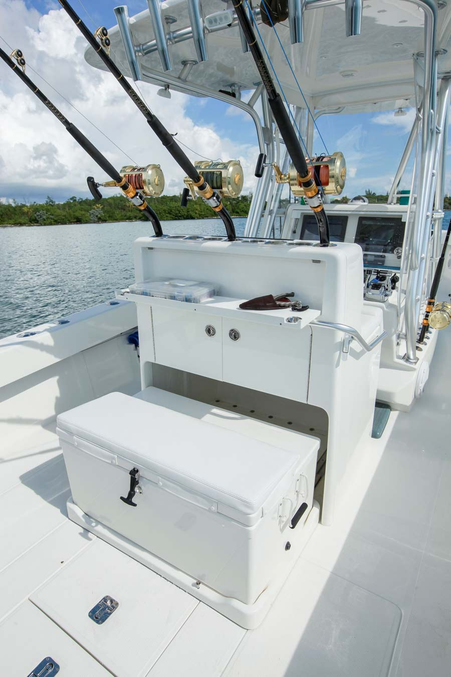 Center Consoles 340z Details Seavee Boats