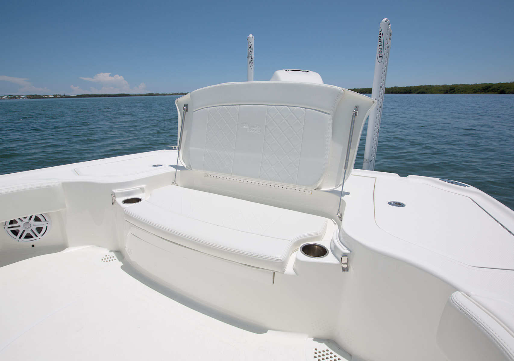 Storage Optional Fish Boxes Or Release Wells Aft Center