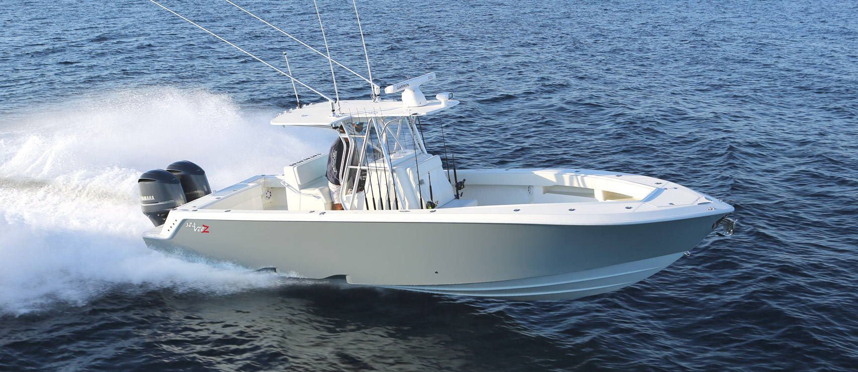 Center Consoles 340z Details Seavee Boats
