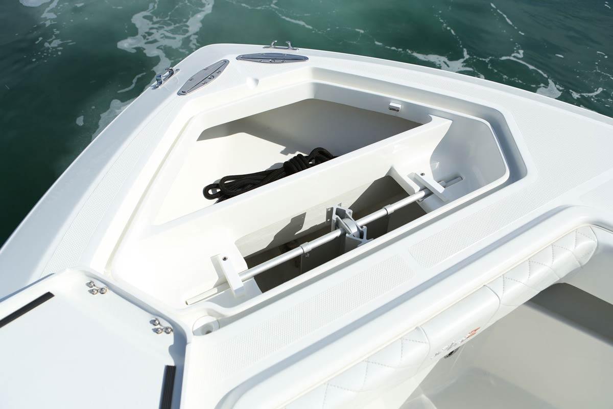 322z Details Seavee Boats