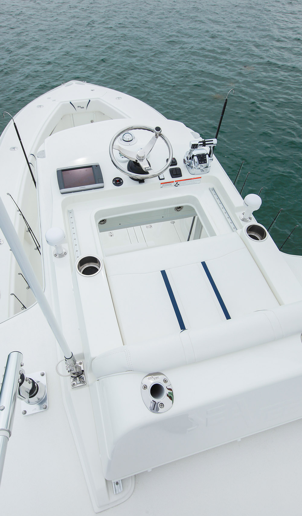 Seavee 320 Model Info Center Console Fishing Boat