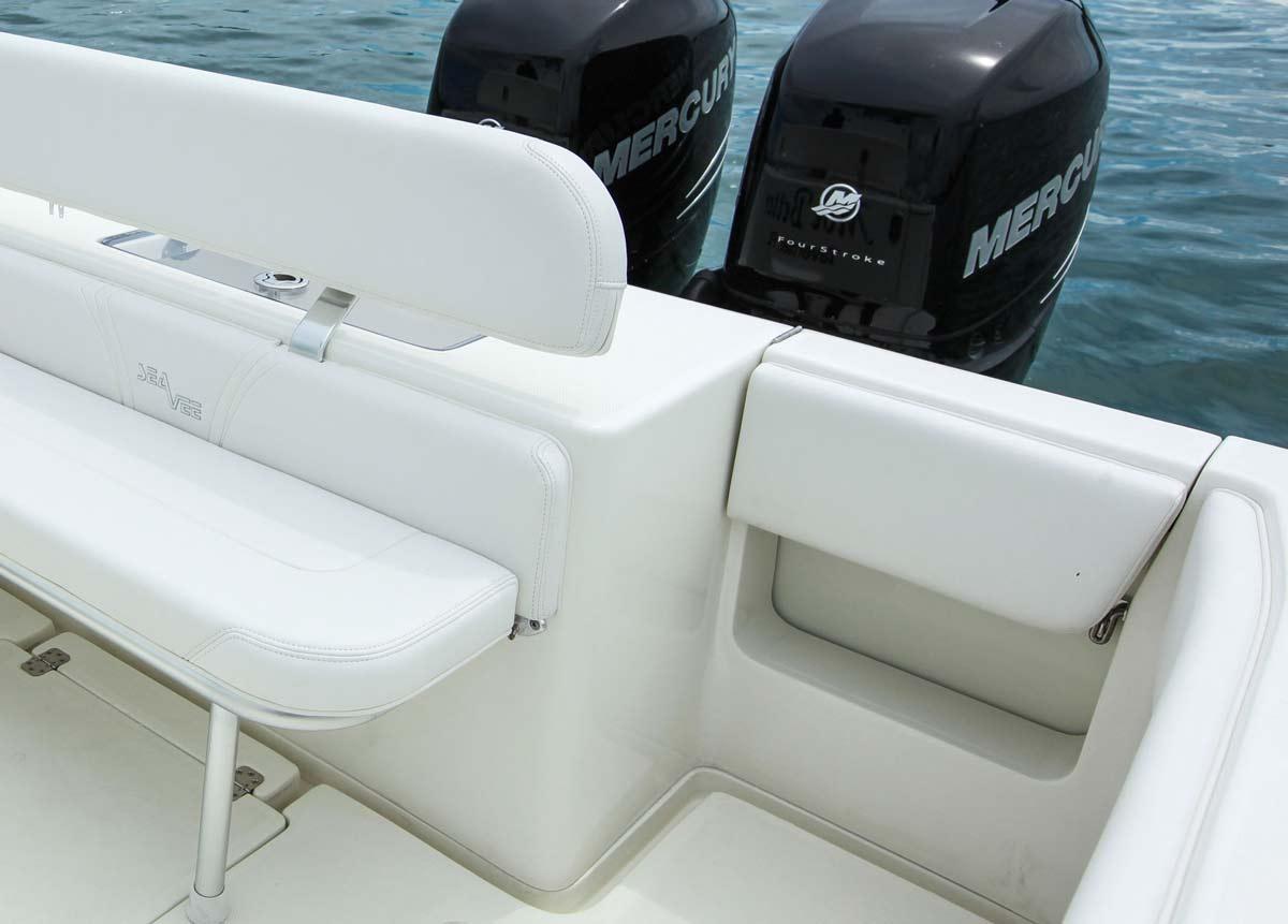 ... Storage Transom Dive Door & 290 Details - SeaVee Boats