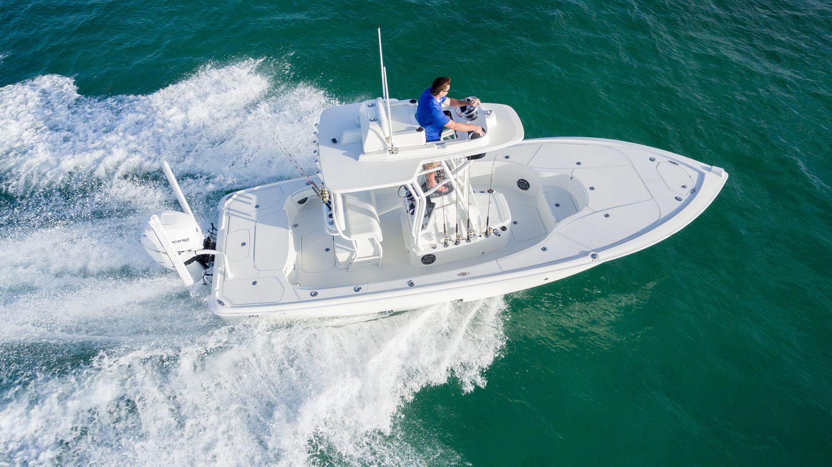270Z Model Info - SeaVee Boats
