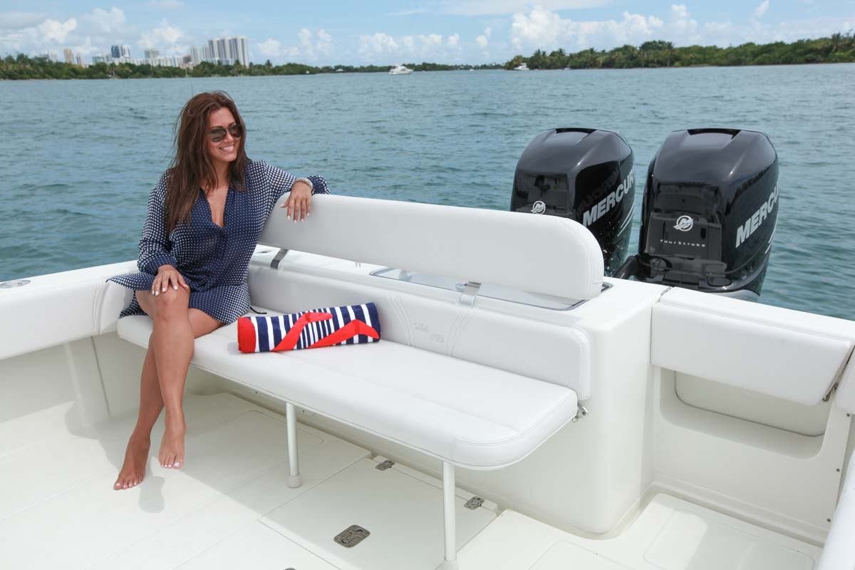 Center Consoles 340 Open Details Seavee Boats