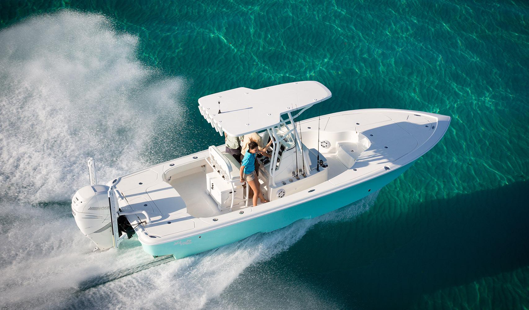 Bay Boats 270z Details Seavee Boats