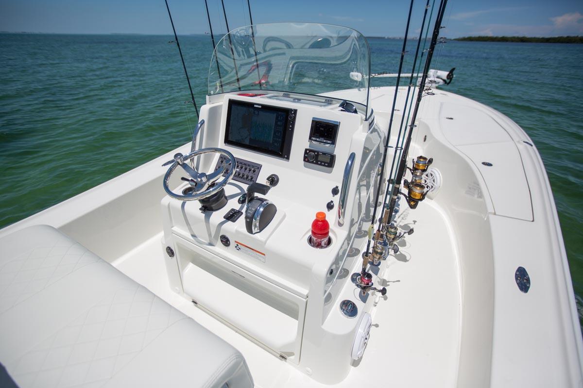 Bay Boats - 270Z Details - SeaVee Boats